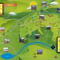 mapa turistico de bucaramanga