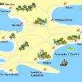 mapa turistico de buzios