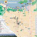 mapa turistico de parana
