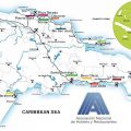 mapa turistico de republica dominicana