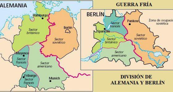 Mapa de Berlín