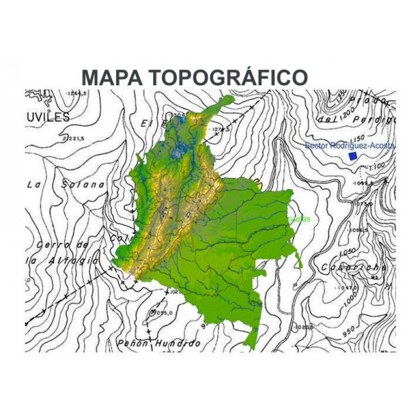 Cual Es El Mapa Topografico Psy Info