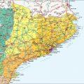 Mapa carretera de Catalunya