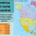 Mapa de America del Norte 1