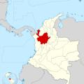 Mapa de Antioquia