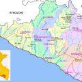 Mapa de Arequipa