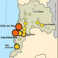 Mapa demografico de Valparaiso