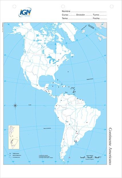 Mapas De America Para Colorear Mapa Fisico Geografico Politico
