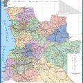 Mapa fisico de Angola