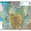 Mapa fisico de Antioquia