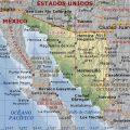 Mapa fisico de Hermosillo