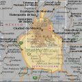 Mapa fisico del DF