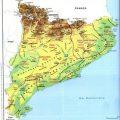 Mapa geografico de Catalunya