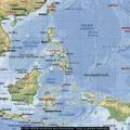 Mapa geografico de Filipinas