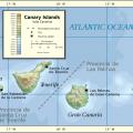 Mapa geografico de Fuerteventura