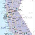 Mapa politico de California