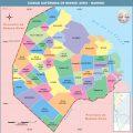 Mapa politico de Capital Federal