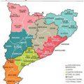 Mapa politico de Catalunya