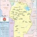 Mapa politico de Cordoba