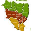 Mapa politico de Huesca