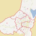 Mapa politico de Ibarra