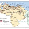 Mapa rutero de Venezuela