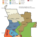 Mapa tematico de Angola