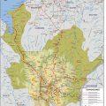 Mapa tematico de Antioquia