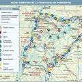 Mapa tematico de Corrientes