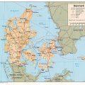 Mapa tematico de Dinamarca
