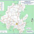 Mapa tematico de Hidalgo