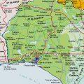 Mapa tematico de Huelva