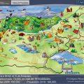 Mapa topografico de Arequipa