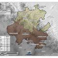 Mapa topografico de Hidalgo