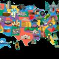 Mapa turistico de Canada