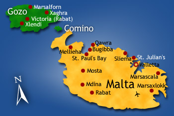 mapa turistico malta Mapa de Malta   Mapa Físico, Geográfico, Político, turístico y  mapa turistico malta
