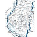 mapa fisico de entre rios