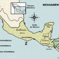 mapa fisico de mesoamerica