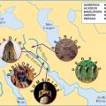 mapa fisico de mesopotamia