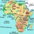 mapa geografico de africa