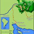 mapa geografico de bahia blanca