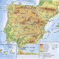 mapa geografico de espana