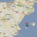 mapa geografico de ibiza