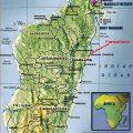 mapa geografico de madagascar