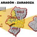 mapa geografico de zaragoza