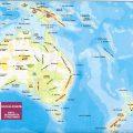 mapa hidrografico de australia