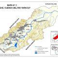 mapa hidrografico de yaracuy