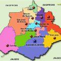 mapa politico de aguascalientes