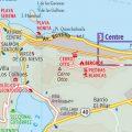 mapa politico de bariloche