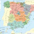 mapa politico de espana